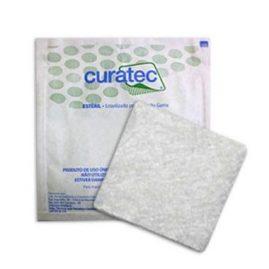 Curativo Alginato de Cálcio e Sódio 10cm x 10cm CURATEC